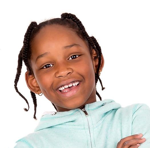 child wearing eczema clothing