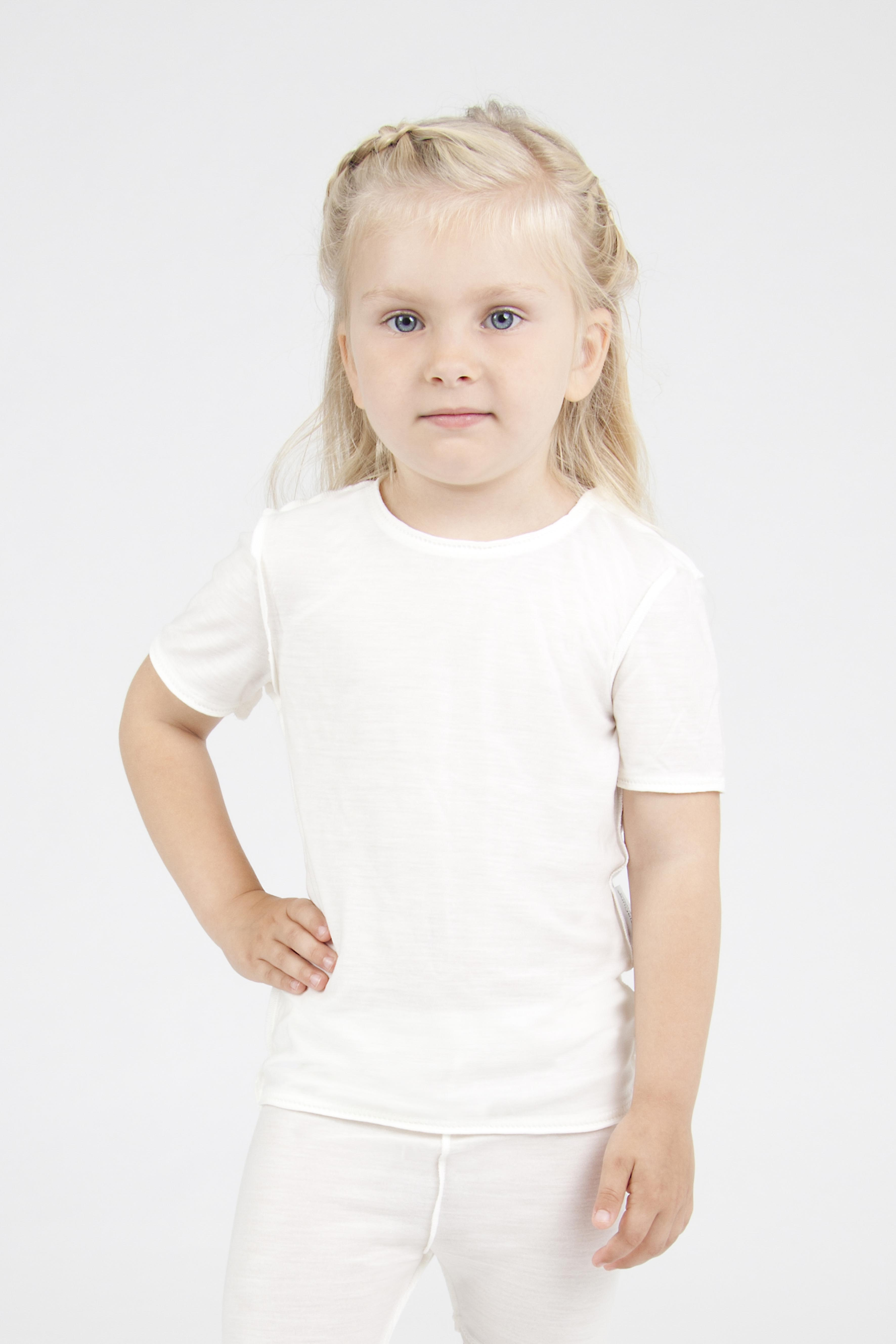 child wearing DermaCura eczema clothing